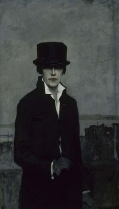 Romaine Brooks, Self Portrait, 1923