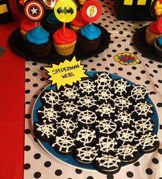 Superhero party food...