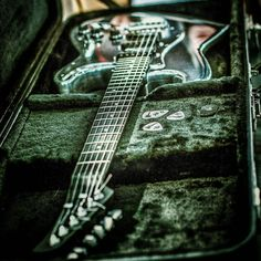 Guitar made of aircraft grade aluminium. Frankfurt 2013