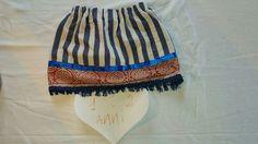 Sea Lover Navy Skirt Gonna Bimba 1/2 Anni Son