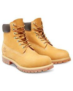 Timberland Classic 6 Inch Boot (Wheat). Size 13-18. | #TallMensClothing | #ExtraLongSuits | #TallMensJeans | #ExtraLongChinos #ExtraLongShirts | LargeSizeShoes