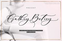 Cathiy Betiey Script by Jamalodin on @creativemarket