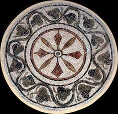 Los mosaicos geométricos de la ciudad tunecina de El-Jem.   Matemolivares