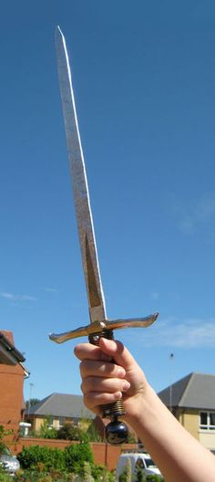 FAUX COSTUME SWORD - MADE EASY