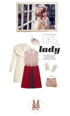 """""""Like a Lady"""" by junglover ❤ liked on Polyvore featuring J.W. Anderson, Valentino, Piers Atkinson and Dolce&Gabbana"""