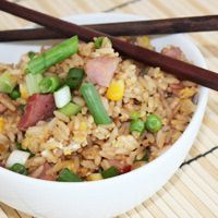 Yum! I always crave ham fried rice around this time of the year!