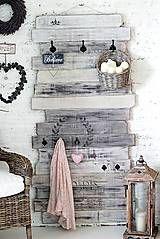 Nábytok - Veľký vešiak ARLENE WHITE XXL - 5297869_