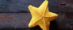 knitting star free pattern step by step with video tutorial