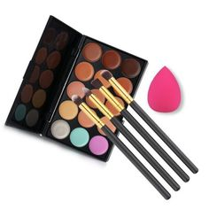 GET $50 NOW | Join RoseGal: Get YOUR $50 NOW!http://www.rosegal.com/make-up/15-colours-concealer-palette-668793.html?seid=6932486rg668793