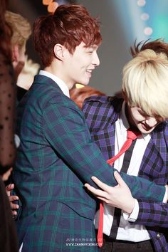 Lay and Onew <3 #EXO  #SHINEE