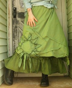 CUSTOM ORDER for ladyastor1955 Sunflower by sarahclemensclothing