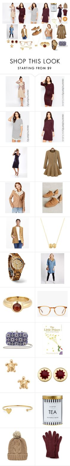 """With Child In Style"" by bellamy-foley on Polyvore featuring ASOS, Madeleine Maternity, Celebrity Pink, Lien.Do by Seychelles, Banana Republic, Tiffany & Co., Fieldcrest, Garrett Leight, Vintage Addiction and Cara Couture"