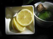 lemon ginger honey acv cinnamon tea