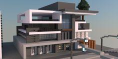 Box | Modern House – Minecraft Building Inc