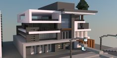 Box | Modern House – Minecraft Building Inc