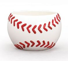 Baseball Shaped Planter/Bowl For Sports themed Events And Room Decor by Burton & Burton, http://www.amazon.com/dp/B002G96CO6/ref=cm_sw_r_pi_dp_4Sb.qb04ETBA3