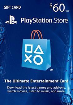 $60 PlayStation Store Gift Card - PS4 / PS3 / PS Vita [Digital Code] - http://rfernandez.otldemo.com/wp_timeless/60-playstation-store-gift-card-ps4-ps3-ps-vita-digital-code/