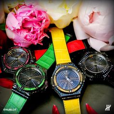 Celebrate a Colorful Winter Ladies' event. All #Hublot Big Bang Lady watches meet up in Nanjing.