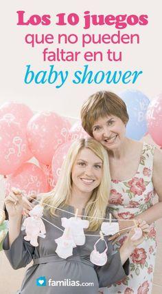 Los 10 juegos que no pueden faltar en tu baby shower. Para saber mucho más sobre bienestar y salud infantil visita www.solerplanet.com