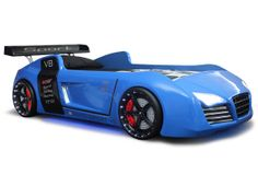 V8 Quattro Blue Car Bed - Fast Car Beds, Furniture Stores, Clyde, NSW, 2142 - TrueLocal