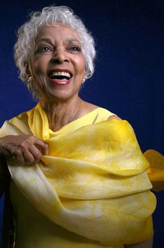 Smile Ruby Dee!  RIP, 6/12/2014, back together again with your soul mate, Ossie Davis!