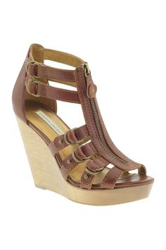 ce9f7995a5 405.00 The Twelfth Street by Cynthia Vincent Jagger Wedge Sandals are an  edgy update of the