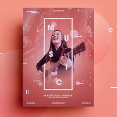 Design para Social Media – Caio Vinnicius Design www. Poster Design Layout, Creative Poster Design, Poster Design Inspiration, Creative Posters, Graphic Design Posters, Church Graphic Design, Social Media Poster, Social Media Design, Social Media Graphics