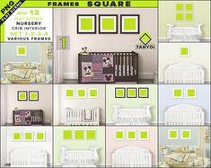 2de750c8fb23 Square Frames Nursery Interior Mockup Bundle-1