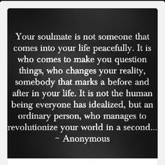 Soulmate Quotes: Amen, love u babe no matter what! U are my soulmate through thick n thin. - Hall Of Quotes Great Quotes, Quotes To Live By, Inspirational Quotes, Gratful Quotes, Rock Quotes, Super Quotes, Awesome Quotes, True Quotes, Anniversary Quotes