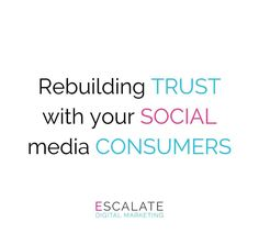 2018 represented a crisis year for trust on social media ⚠ As a business, it's your responsibility to restore faith in your consumers. This can be done through a number of methods such as creating a branded hashtag for your business, think of using micro influencers as opposed to celebrity-esque ones as they tend to generate more authentic content & have overall higher engagement rate! Hosting a weekly Q&A Facebook session with your customers will help to strengthen the previously…