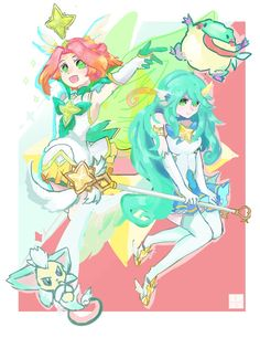 Magical Girl, Character Design, Princess Zelda, Games, Fictional Characters, Champions League Of Legends, Videogame Art, Character, Anime Art
