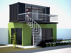 Conex homes 2 bedroom shipping container homes,cargo container buildings houses built out of shipping containers,large shipping containers modular container house. Container Hotel, Container Van, Cargo Container, 40ft Shipping Container, Shipping Container Home Designs, Container House Design, Shipping Containers, Container Buildings, Container Architecture