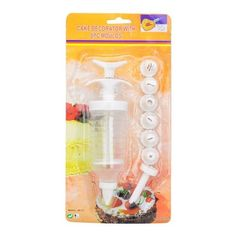 Cake Decorators Tool Cream Syringe 8 Nozzles by TJSpecial ** Find out more about the great product at the image link.