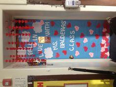 Valentine's Classroom Door