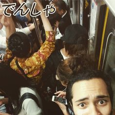 On my way to Atami and the train was full of people. Probably the most I've ever experienced. I actually hoped for there to be more people just to see the maximum amount that the train could take. That would've been something else. - #japan #ilovejapan #atami #atamicity #atamitrip #japantravel #traveljapan #japantrip #japan2016 #atamitravel #shizuoka #train #tokyo #awesome