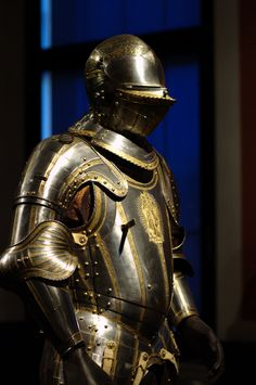 A suit of armour from the Collection of Arms and Armour in the Neue Burg, Vienna.