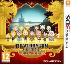 Theatrhythm Final Fantasy: Curtain Call 3DS Cover Art