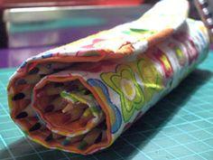 Rollup pencil case