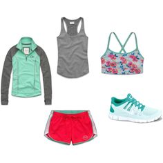 """""""work out outfit"""" by adelinenicole on Polyvore"""
