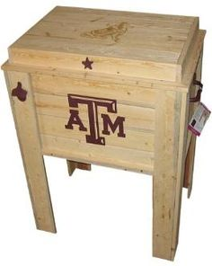 Texas A Aggie Cooler