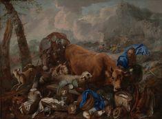 Giovanni Benedetto Castiglione – Noah's Sacrifice after the Deluge, 1650/55  | LACMA Collections