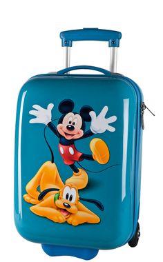 Maleta Mickey y Pluto
