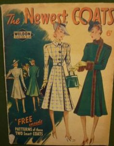 Weldon's Fashion Series No. 483 - Newest Coats, 27th September, 1939