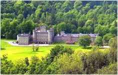 Taymouth Castle is situated just north-east of the village of Kenmore, Perth and Kinross in the Highlands of Scotland. It stands on the site of the much older Balloch Castle (built in 1550), which was demolished to be rebuilt on a much larger scale in the early 19th century by the Campbells of Breadalbane. A tower house on the site, known as Balloch Castle, was built around 1550 by Sir Colin Campbell of Glenorchy. Wikipedia   Photo by Tom Macs - Scottish Botany, Countryside & on Flickr