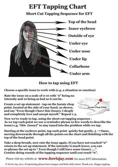 How to use EFT... repinned by http://www.tools-for-abundance.com/eft.html