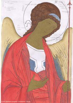 Studio icona Arcangelo Michele 03
