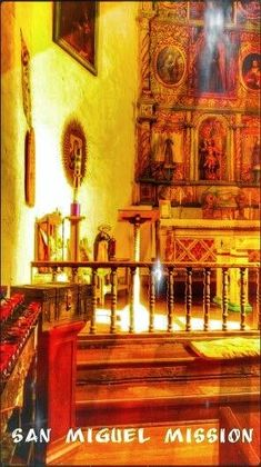 San Miguel Mission, True Devotion To Mary, New Mexico, Painting, Art, Art Background, Painting Art, Kunst, Paintings