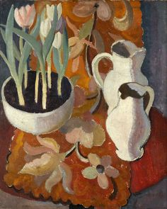 William George Gillies, Tulips and Jugs