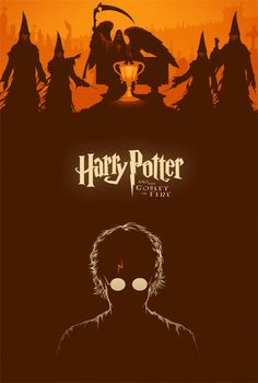 Another Harry Potter poster! This time it's for the fourth film in the franchise, Harry Potter and the Goblet of Fire directed by Mike . Harry Potter Poster, Arte Do Harry Potter, Harry James Potter, Harry Potter Universal, Harry Potter World, Hogwarts, Slytherin, Florent Mothe, Wallpaper Harry Potter