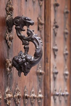 Wrought Iron Door knocker [ batente de porta ]